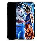 Compatible con iPhone 6 Plus/6S Plus, carcasa de silicona antigolpes, color negro y TPU suave