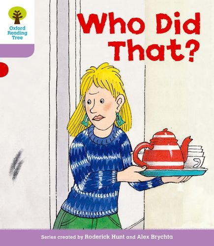 Oxford Reading Tree: Level 1+: More Patterned Stories: Who Did That?の詳細を見る