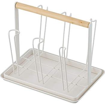 和平フレイズ キッチン収納 グラススタンド 水切り リンクスメイド トレー付 RG-0328