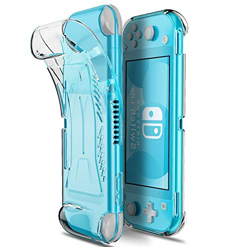 MAKACTUA Funda con Nintendo Switch Lite-TPU Carcase de Protección con Protector de...