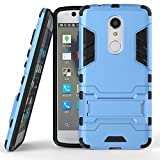 BCIT ZTE Axon 7 Mini Funda - Alta Calidad Escabroso Durable Estuche Protector TPU/PC Carcasa Case para ZTE Axon 7 Mini - Azul