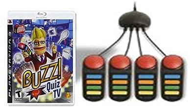 Buzz! Quiz TV Bundle (Wired Buzzers)