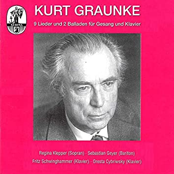 Graunke: Lieder and Ballads for solo voice and piano