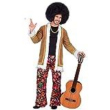 WIDMANN Disfraz de adultos Woodstock Hippie