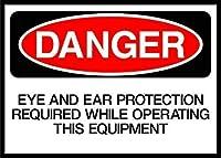 注意ドアを開けてくださいゆっくりと危険ハザードラベル メタルポスタレトロなポスタ安全標識壁パネル ティンサイン注意看板壁掛けプレート警告サイン絵図ショップ食料品ショッピングモールパーキングバークラブカフェレストラントイレ公共の場ギフト
