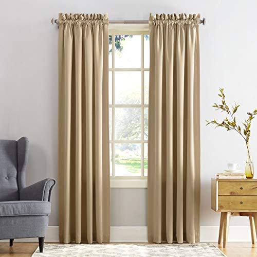 cortina marron fabricante Sun Zero