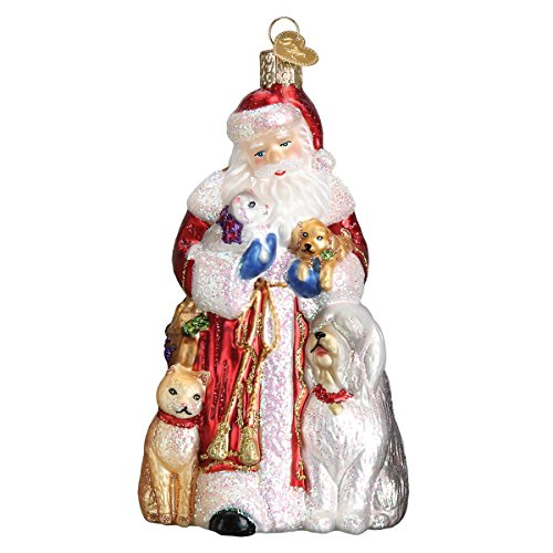 Old World Christmas Ornaments Furry Friends Glass Blown Ornaments for Christmas Tree