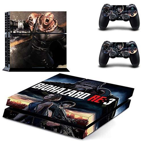 TSWEET PS4 Aufkleber für Playstation 4 / PS4 Konsole und Controller, Vinyl