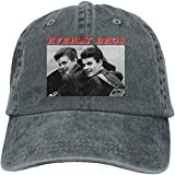 Photo de Ghghdfysdds Unisex Men's & Women's Print with The Everly Brothers Low Profile Baseball Cap Adjustable,Deep Heather,One Size par