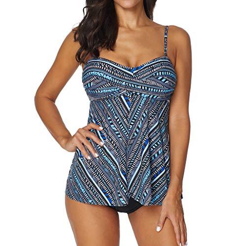 TankiniSwimsuitsForWomen Shorts Swimwear Hight Waist Two Piece Swimsuits