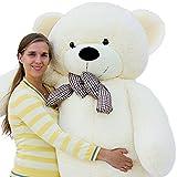 Joyfay marca Grande Orsacchiotto 200cm 78' orso di peluche gigante bianco Giocattoli di pezza morbido E tenero per Adulto Bambina peluche giganti orso peluche gigante orso gigante
