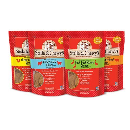 Stella and Chewy's Freeze Dried Raw Dinner Variety Pack