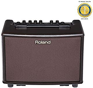 Roland AC-33 Acoustic Guitar Amplifier Rosewood with 1 Year Free Extended Warranty