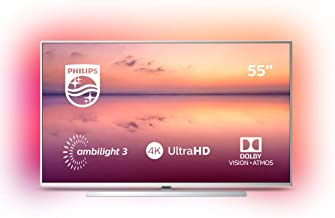 Philips 55PUS6814, Smart TV Alexa Ultra HD (Ambilight 3