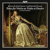 Graun J.G. & C.H. : Trios pour violon, alto et pianoforte.