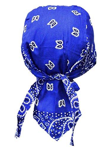 armardi b Bandana casquette Old School bleu roi