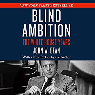 Blind Ambition audiobook cover art