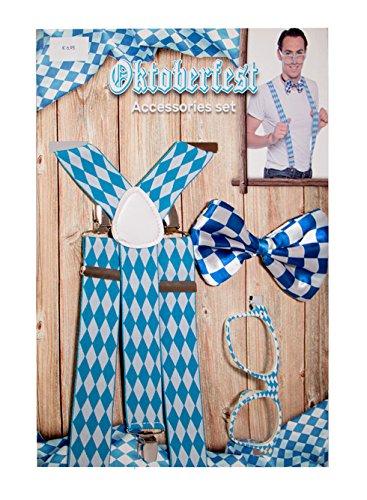 Folat 63448 Oktoberfest Accessoires Set für Männer
