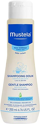 Mustela Bébé Shampooing Doux Flacon Capsule 200 ml