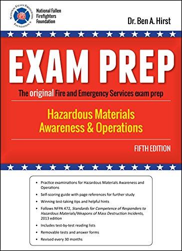 Exam Prep: Hazardous Materials Awareness & Operations, Fifth Edition