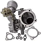 MGGRP K03-052 K03s Turbo Turbocompresor Turbocharger con Refrigeración por Agua, Turbina de Alto Rendimeinto para Coche, Turbolader para A3 Leon Golf Gti 1.8T 1.8L P 2000-2010