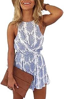 LUKYCILD Women Sexy Strap Backless Summer Beach Party...
