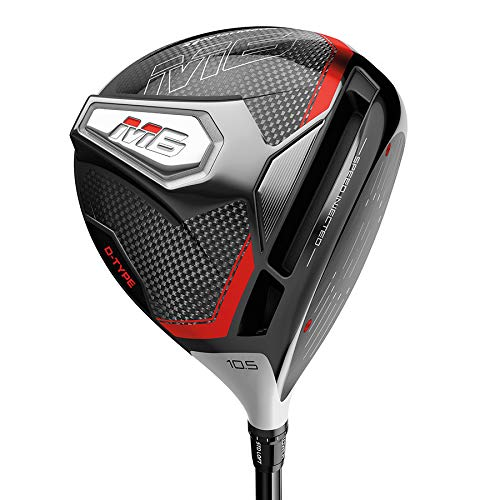 TaylorMade Golf M6 D-Type Driver, 10.5 Loft, Left Hand, Regular Flex Shaft: Project X Evenflow Max Carry 45