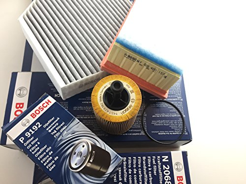 Bosch Ölfilter Luftfilter Aktivkohlefilter A4 B8 A5 8T Q5 8R 2.0 TDI - Motorcode CAHB , CAGA , CAGB, CAGC