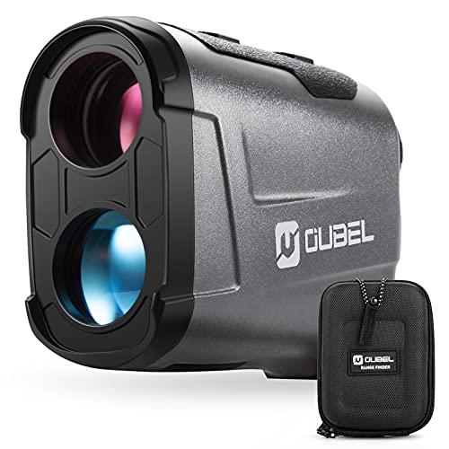 OUBEL Golf Entfernungsmesser, Jagd Entfernungsmesser, 800 Yard Laser Entfernungsmesser mit Neigungsberechnungsfunktion, Fahnenmastverriegelung, Vibration, kontinuierliche Messfunktion