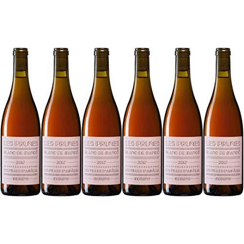 Les Prunes Vino Rosado - 6 Botellas - 4500 ml