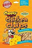 Cheesy Doggie Chicken Chips | Dog Treats Made in USA - 4 oz 100% Chicken