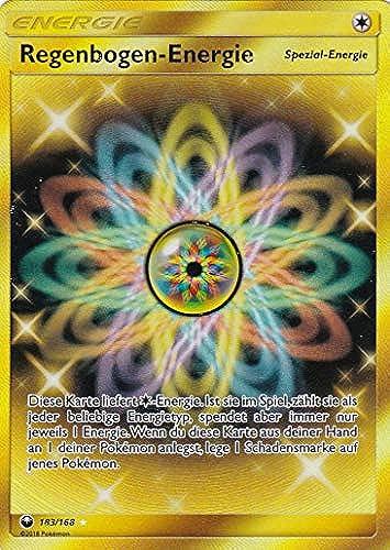 183 168 - Regenbogen-Energie - Secret Rare - Pokemon - Deutsch - Sturm am Firmament