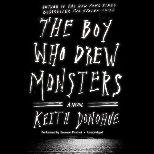 The Boy Who Drew Monsters audiobook cover art