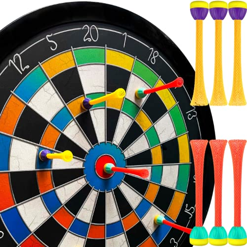 Doinkit Darts Kid-Safe Indoor Magnetic Dart Board - Easy to Hang, Fun to Play, Includes Board and 6...