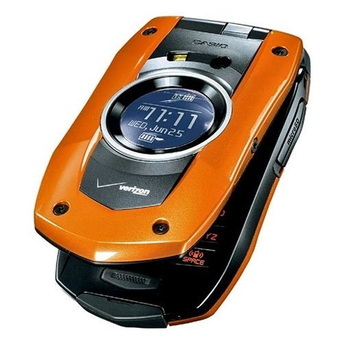 Verizon PCDC711ORXCMU PCD Casio C711 GzOne Boulder Replica Dummy Phone/Toy Phone, Orange