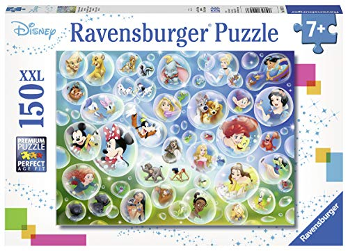 Ravensburger 10053 Disney Pixar Bubbles - 150 Piece Jigsaw Puzzle for Kids – Every Piece is Unique, Pieces Fit Together Perfectly, Multicolor