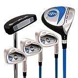 Masters Golf MK PRO - Mezzo Set da Golf, per destrorsi, 155 cm, Colore: Blu