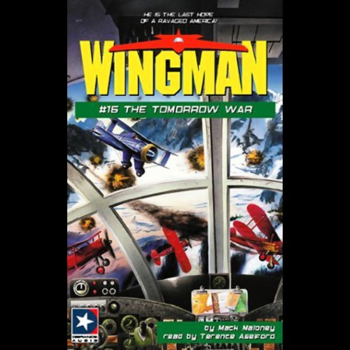 Wingman #16 audiobook cover art