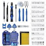 YINSAN 120 en 1 Juego de Destornilladores de Precisión con Magnetizador, Kit de Herramientas de...
