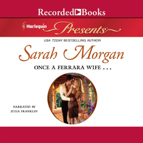 Once a Ferrara Wife... audiobook cover art