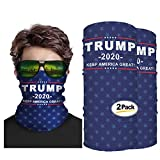 Second Skin USA Trump 2020 Face Mask Neck Gaiter - Unisex Multifunctional - Cool Mask for Outdoor Activities Like Camping, Running, Fishing, Hunting - Bandana for UVA UVB Protection (2)