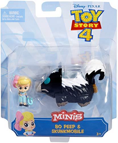 Toy Story - Minis Disney Pixar Bo Peep con Puzzolamobile, Mini Personaggi da Collezione, per Bambini da 3+ Anni, GCY62