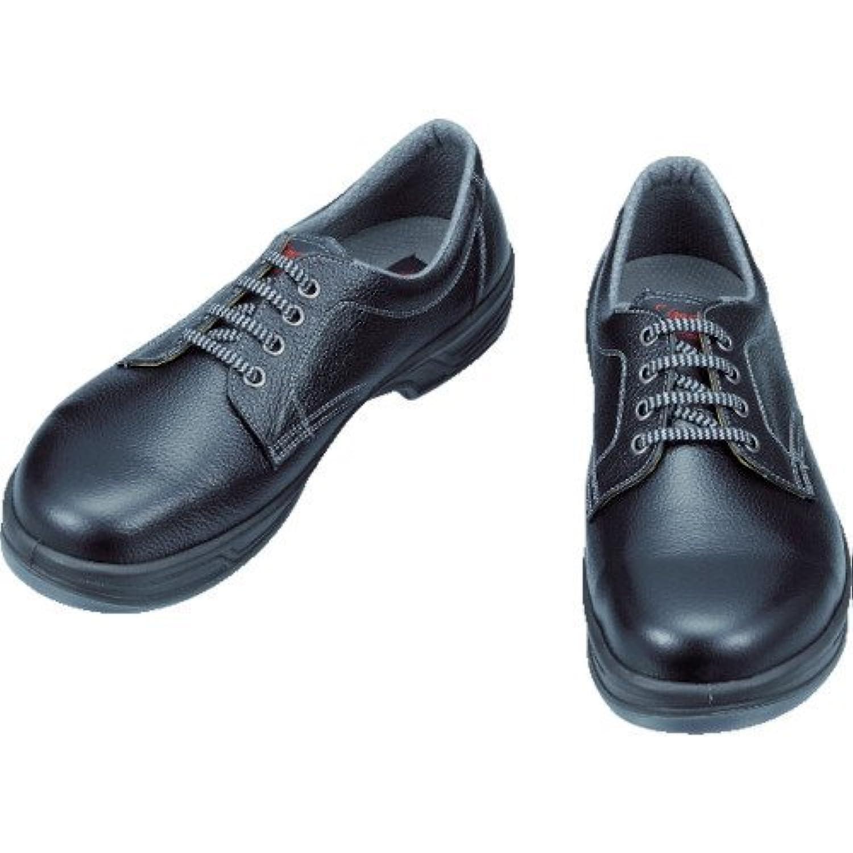 [シモン] 安全靴 短靴 JIS規格 耐滑 快適 スタンダード SS11黒 黒 29 cm 3E