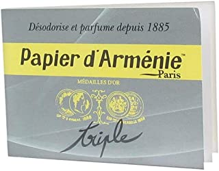 Papier D`Armenie Traditional Burning Papers - 1 Book of 12 Sheets