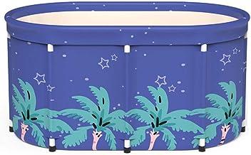 zitong Portable Foldable Bathtub, Foldable Soaking Bathing Tub for Adults, 80-100cm Separate Family Bathroom SPA Tub, Soak...