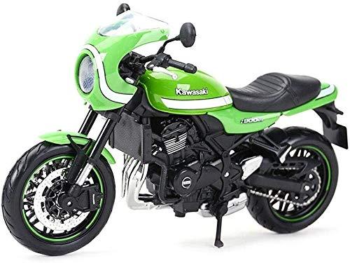 01.12 Motorrad-Spielzeug-Modell Kawasaki Z900RS Retro Straßen-Auto, Alloy Motorrad-Modell-Sport-Auto-Spielzeug, Dekoration und Sammlung Paket
