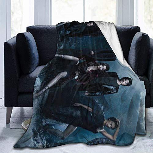 Ultra Made in uk Flannel Fleece Blanket Supernatural 15 Years Anniversary Dean Sam Stylish Bedroom Living Room Sofa Warm Throw Blanket 60'X50'for Kids