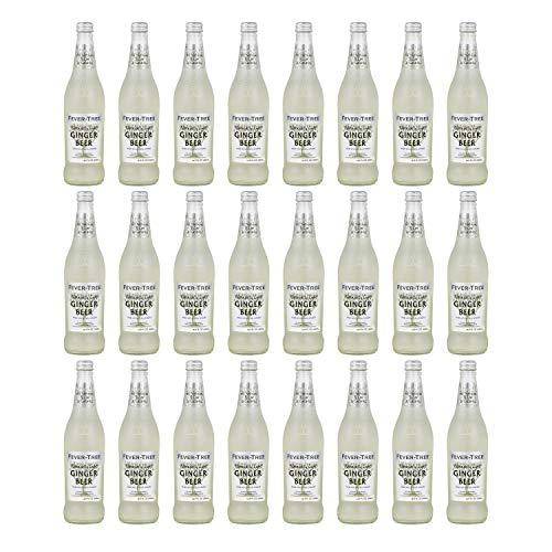 Fever Tree - Cerveza de jengibre refrescante, 500 ml (paquete de 24)