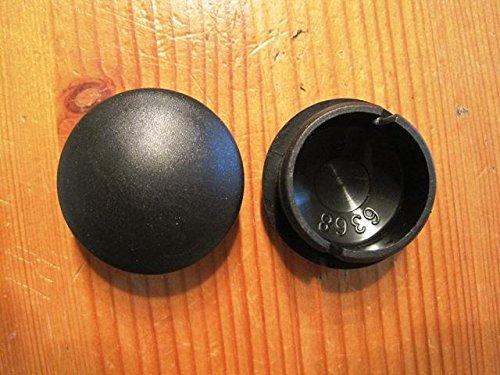 Peg Perego 1 stuks wieldop dop zwart voor wielpliko P 3 (08) voor modellen 2008-2010
