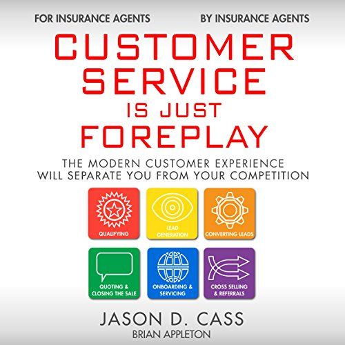 Customer Service Is Just Foreplay audiobook cover art